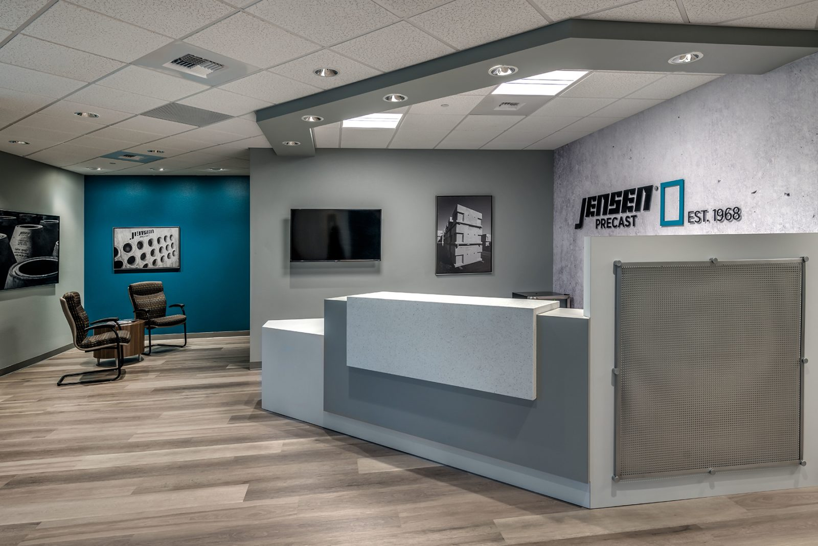 jensen precast office 1